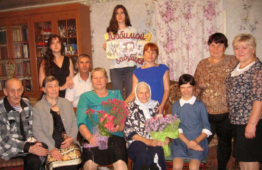 Поздравление жителей села с его юбилеем